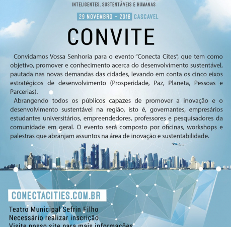 1º CONECTA CITIES