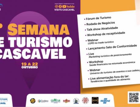 PROGRAMAÇÃO 1ª SEMANA DE TURISMO CASCAVEL